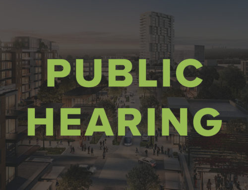 New Public Hearing Date